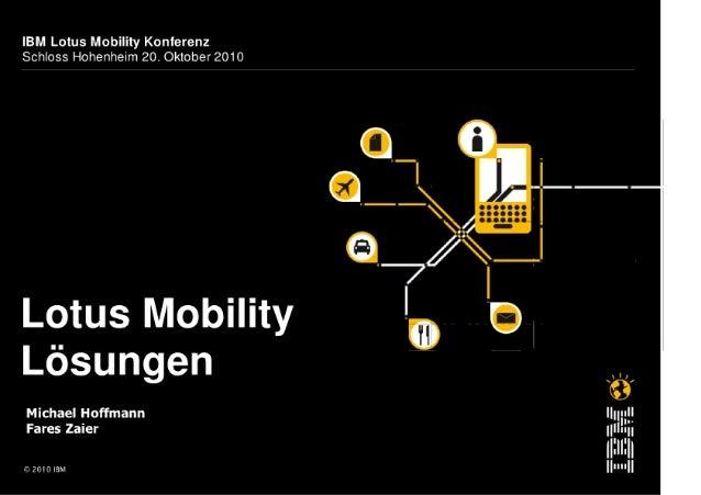 BM Lotus Mobility Lösungen - Markttrends und Praxisbeispiele