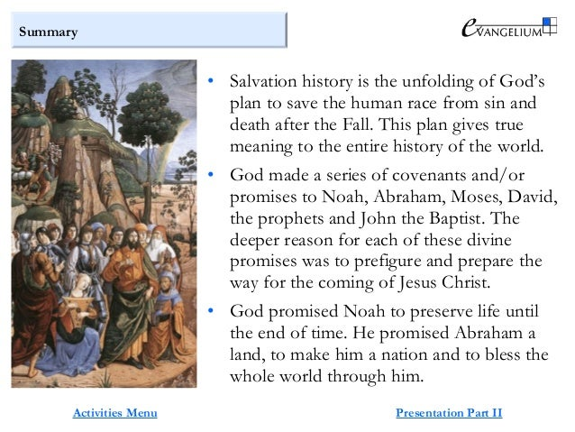 Salvation history summary