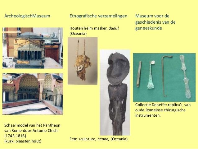 ArcheologischMuseum             Etnografische verzamelingen        Museum voor de                                         ...