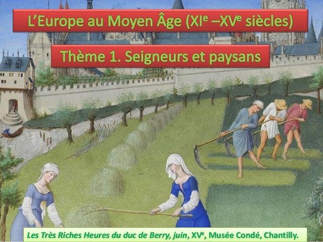 Les Très Riches Heures du duc de Berry, juin, XVe, Musée Condé, Chantilly.
