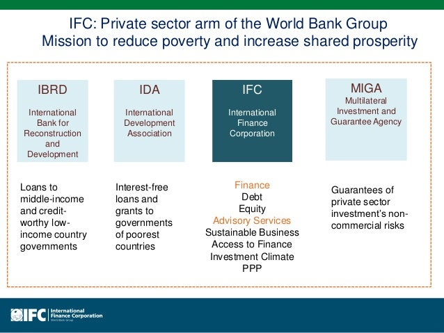 the world bank group mission We are not a bank in the ordinary sense  but a unique partnership to reduce.