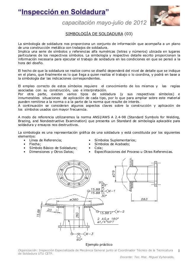 03 simbologia de soldadura for Que es soldadura