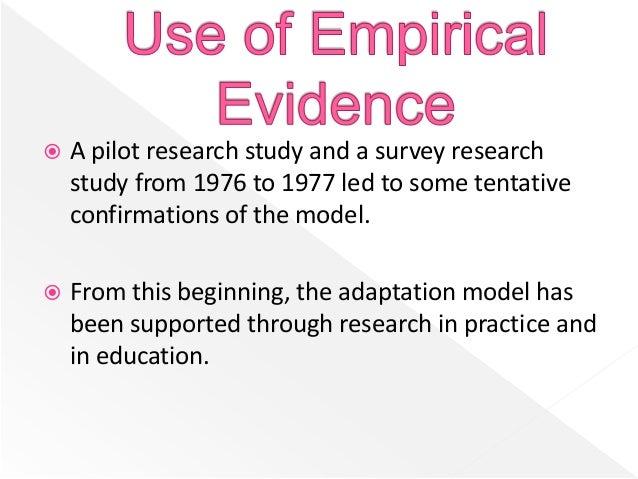 a theory of adaptation Ismunicz.