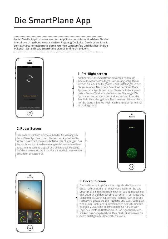 Die SmartPlane App Laden Sie die App kostenlos aus dem App Store herunter und erleben Sie die interaktive Umgebung eines r...