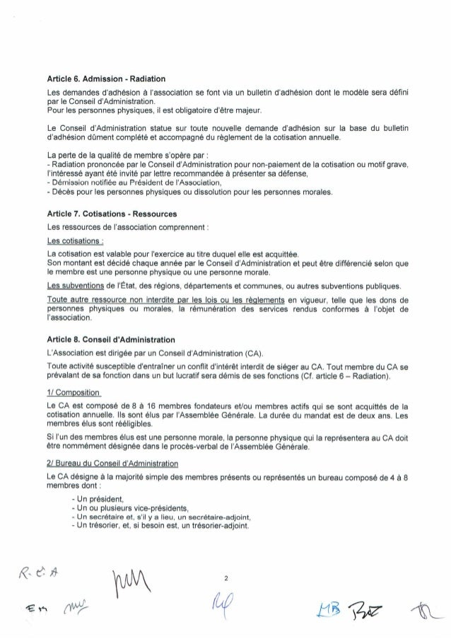 Statuts de l'association France Insomnie