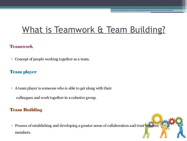 mba team building essays Team building activities also increase cohesiveness through individual self-awareness, and they often promote this through exposing vulnerabilities and increasing.
