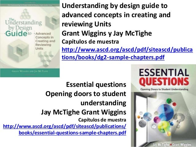 The Understanding By Design Guide To Creating High Quality Units Pdf