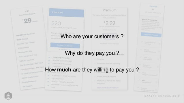 Establish a Pricing Process Assign an owner ● Product Growth (SMB/Self-serve) ● Sales (Mid-Market/Ent) Talk to customers ●...