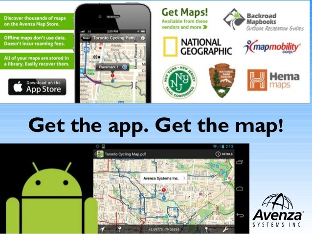 Get the app. Get the map!