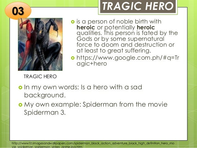 examples of tragic heroes in literature