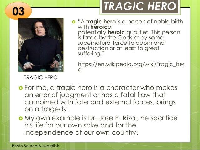 tragic hero examples