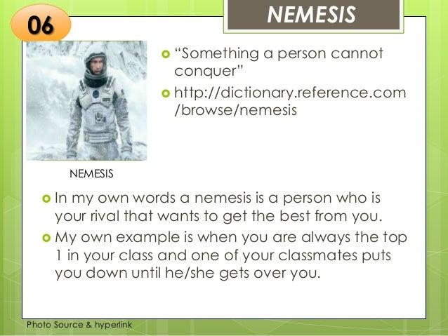 nemesis literary definition
