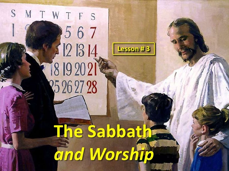 worship and sabbath