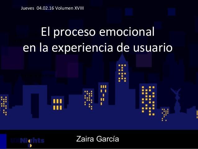 Jueves    07.01.15  Volumen  XVII   UX  para  Startups   Jueves    04.02.16  Volumen  XVIII    ...