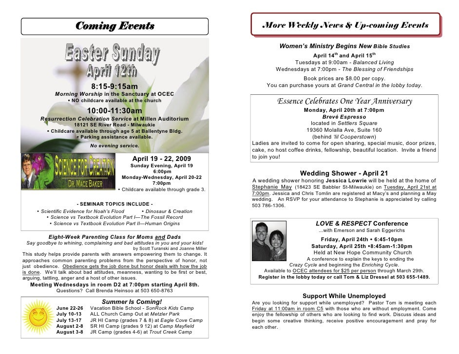 Coming Events                                                      More Weekly News & Up-coming Events                    ...