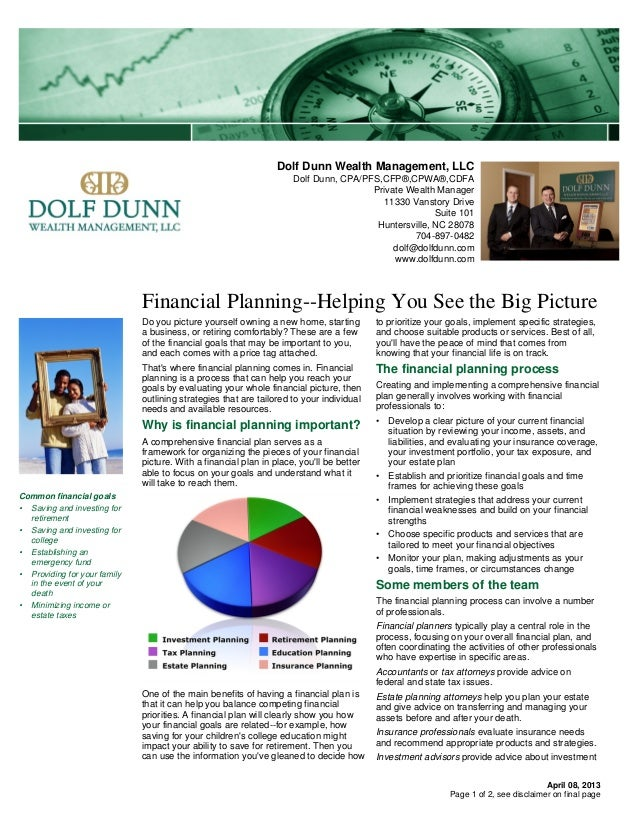 Dolf Dunn Wealth Management, LLC                                                                     Dolf Dunn, CPA/PFS,CF...