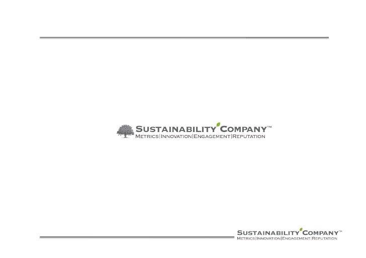 Chi siamo  Sustainability Company ha un background di oltre 20 anni di esperienza sulla sostenibilità e sulla reputazione....