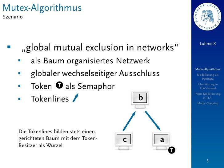 "Mutex-AlgorithmusSzenario                                                              Luhme X §        ""global mutual ex..."