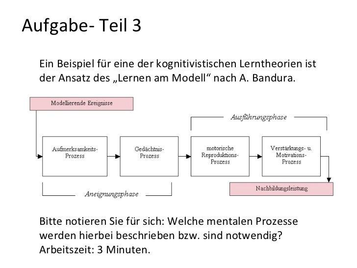 arbeitszeit 3 minuten 28 - Lernen Am Modell Beispiele