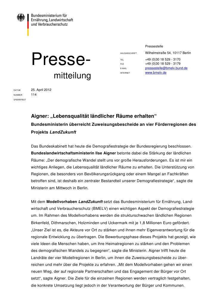 Pressestelle                                                                                Wilhelmstraße 54, 10117 Berlin...