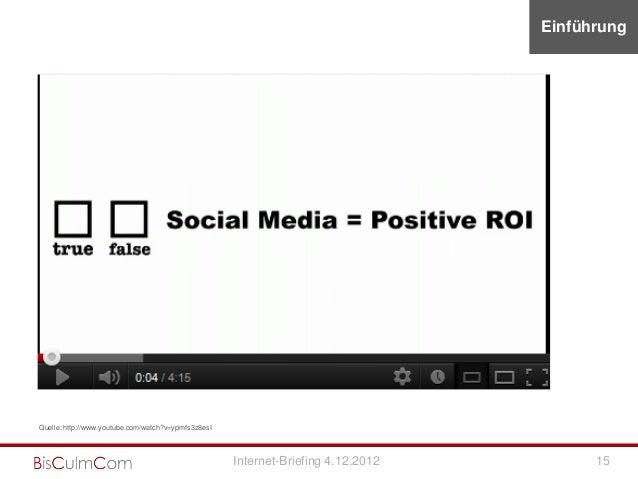 EinführungQuelle: http://www.youtube.com/watch?v=ypmfs3z8esI                                                     Internet-...