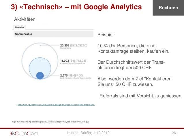 3) «Technisch» – mit Google Analytics                                                                                     ...