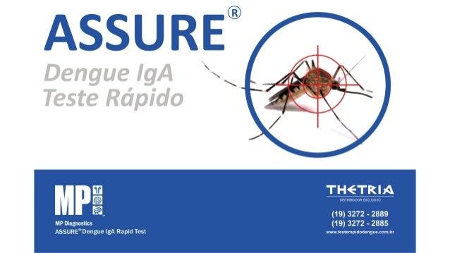 Assure® Dengue Iga Rapid Test - Como Usar