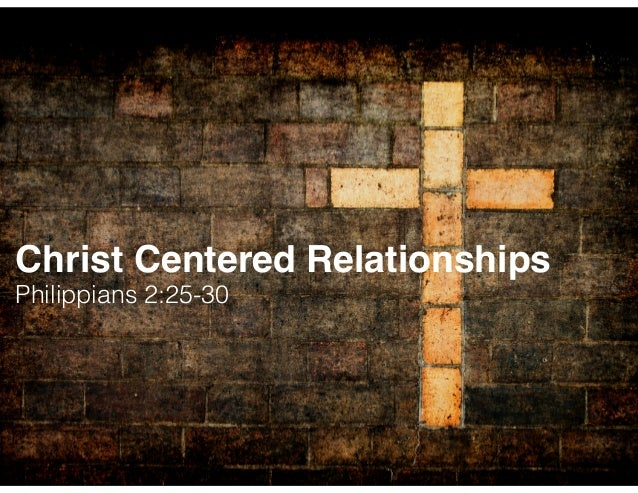 The Key Ingredient in a God-Centered Relationship