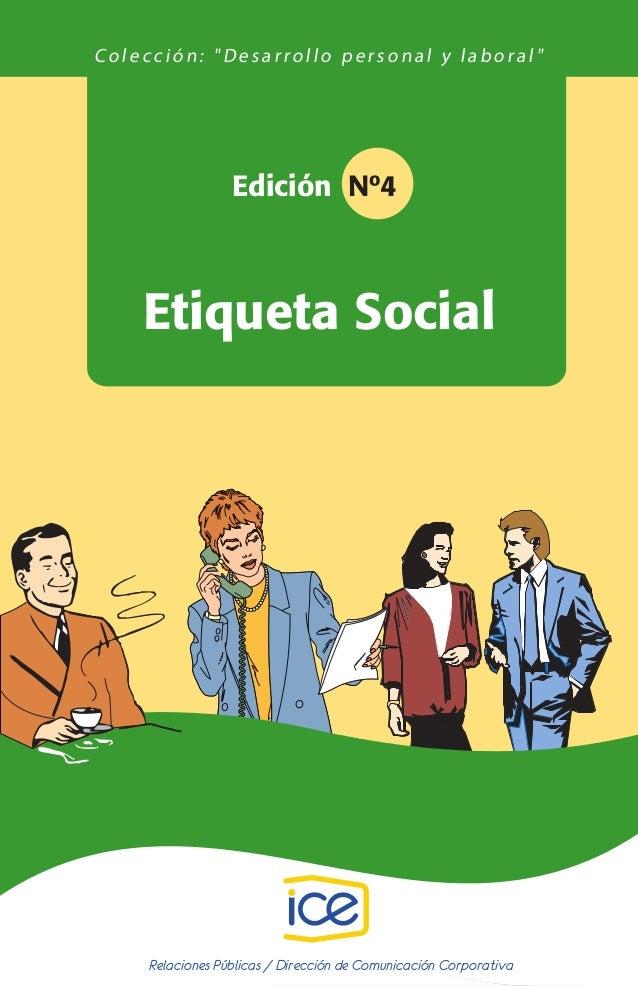 04. Etiqueta social