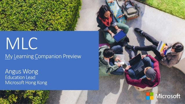 Microsoft in Education Vision Anytime Anywhere Learning for ALL