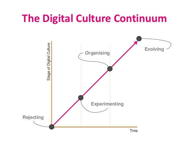 The Digital Culture Continuum Rejecting Experimenting Organising EvolvingStageofDigitalCulture Time