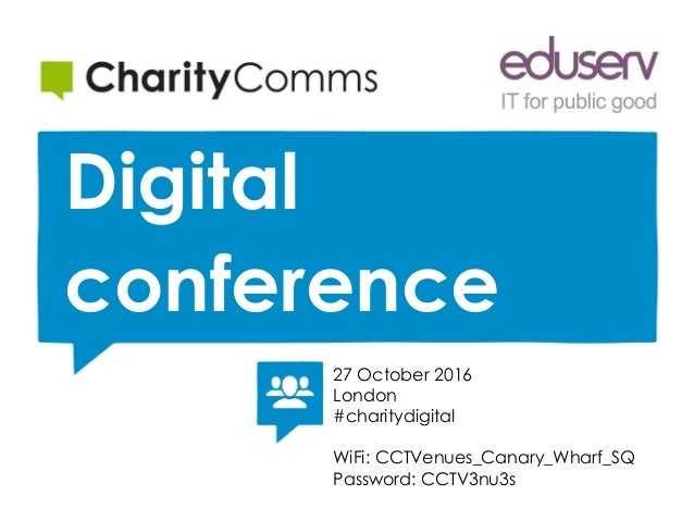 Measuring digital maturity to drive culture change   Digital conference   27 October 2016