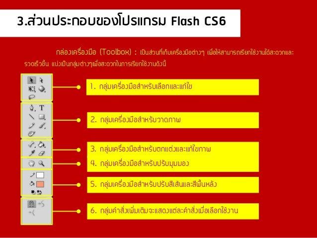 โปรแกรม flash cs6