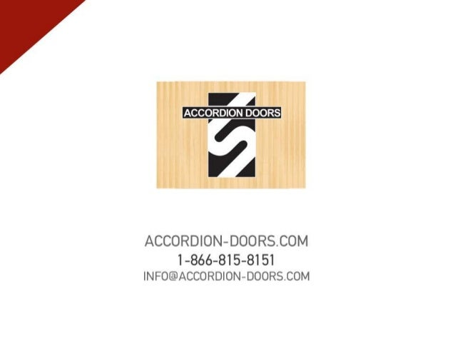 Secure Any Business In Style Accordion Doors