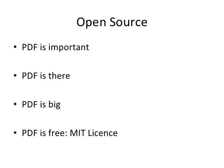 PDF in Smalltalk