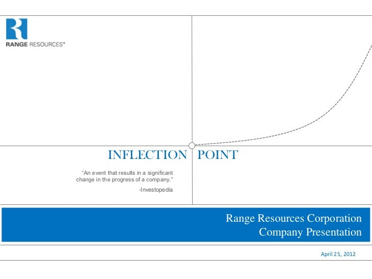 """INFLECTION POINT  """"An event that results in a significantchange in the progress of a company.""""                          -I..."""