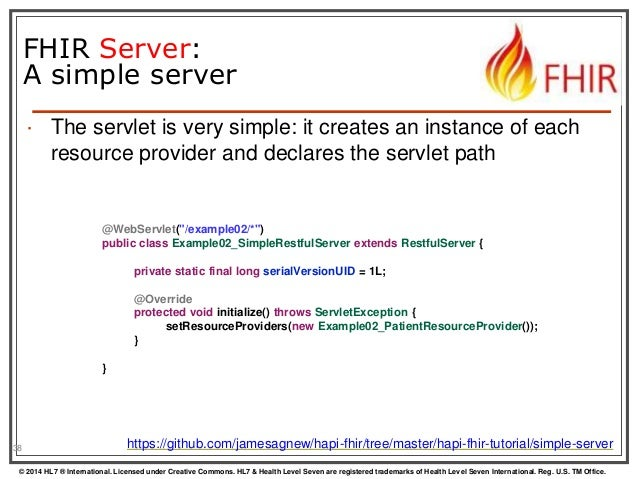 FHIR API for Java programmers by James Agnew