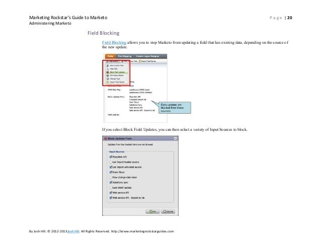 marketo salesforce integration instructions