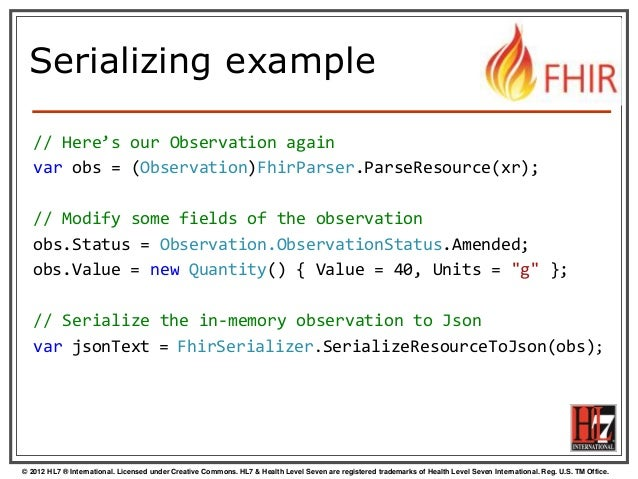FHIR API for .Net programmers by Mirjam Baltus