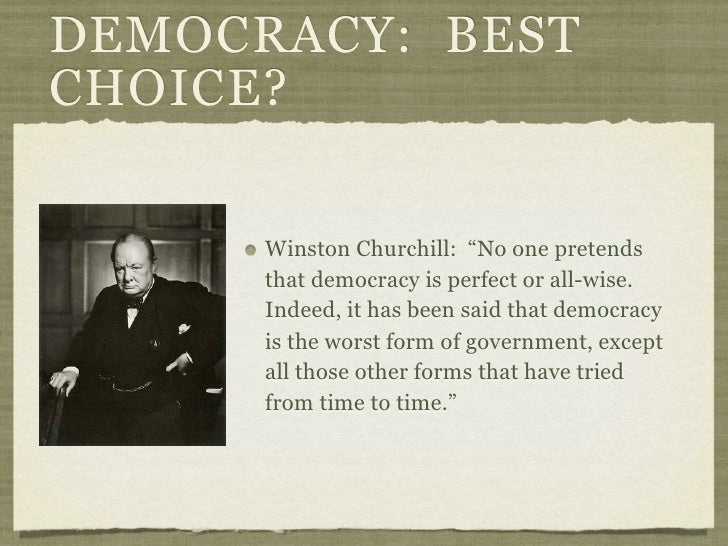 04 - Basic Concepts of Democracy