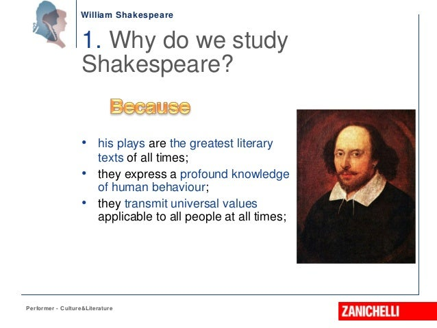 the importance of shakespeares literature as educational texts at all schools English literature (8,131 explore shakespeares presentation of caliban and ariel what does it tell us about the importance of freedom and imprisonment in the.