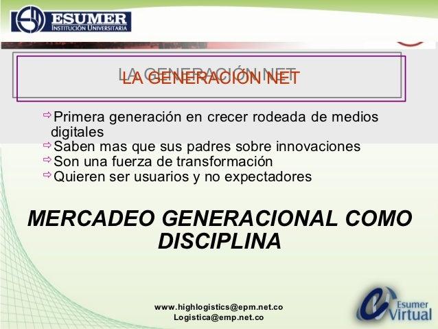 LA GENERACIÓN NET             LA GENERACIÓN NET Primera   generación en crecer rodeada de medios  digitales Saben mas qu...