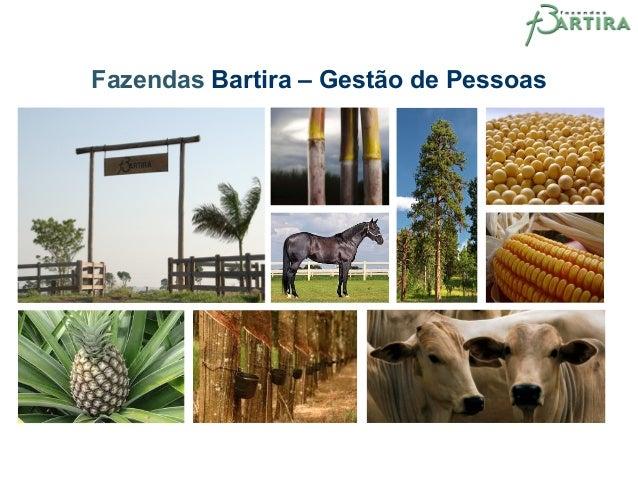 Fazendas Bartira – Gestão de Pessoas