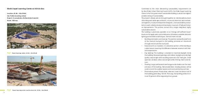 76 77 Sheik Zayad Learning Center at Al Aïn Zoo Location: Al Aïn - Abu Dhabi Use: Public (Learning center) Project: iC con...