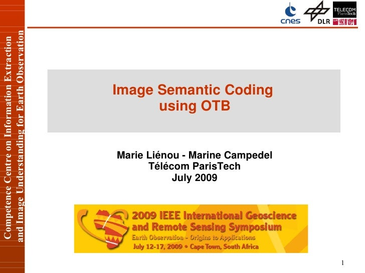 Competence Centre on Information Extraction     and Image Understanding for Earth Observation                             ...