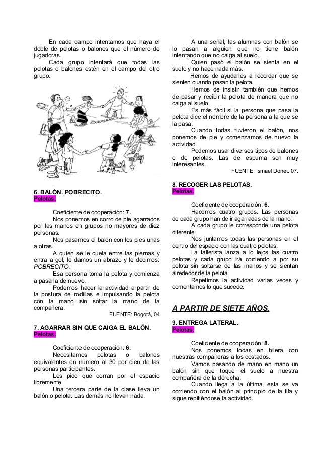04 Juegos Deportivos Cooperativos Con Pelotas