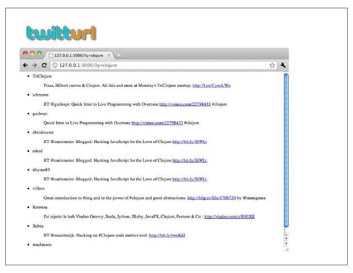Elastisch, a minimalistic Clojure client for ElasticSearch ...