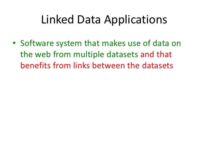 Consuming Linked Data 4/5 Semtech2011 Slide 3