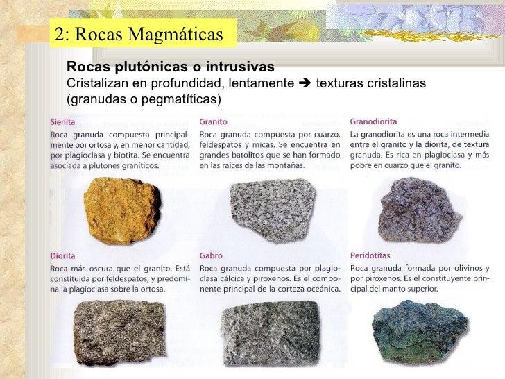 04 magmatismo y metamorfismo for Nombre de la roca