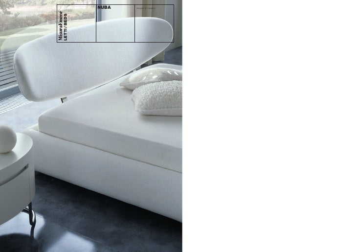 NUBA   designer M. Lipparini     LETTI / BEDS